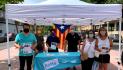 """Junts inicia la campanya """"Escoltem als Barris"""" a Sant Feliu de Guíxols."""