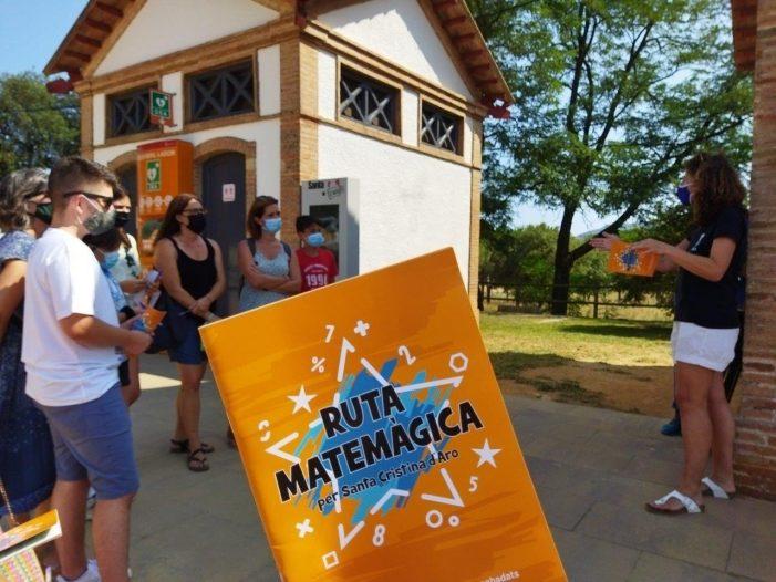 La màgia i les matemàtiques nova ruta a Santa Cristina d'Aro