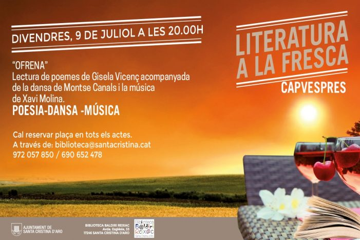 Tret de sortida del festival 'Concerts d'Aro' a Santa Cristina