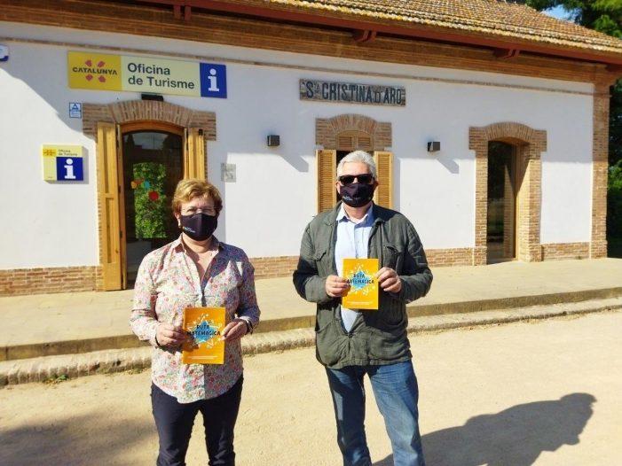 Santa Cristina d'Aro estrena una ruta matemàgica autoguiada i única al territori