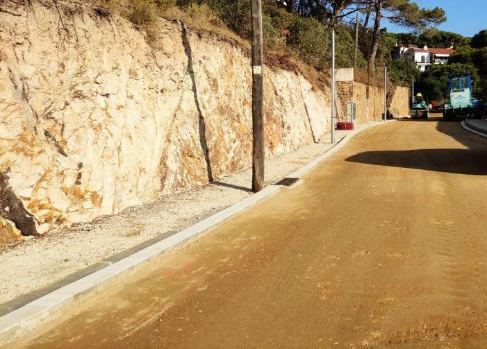 Aturada estival de les obres del carrer s'Adolitx