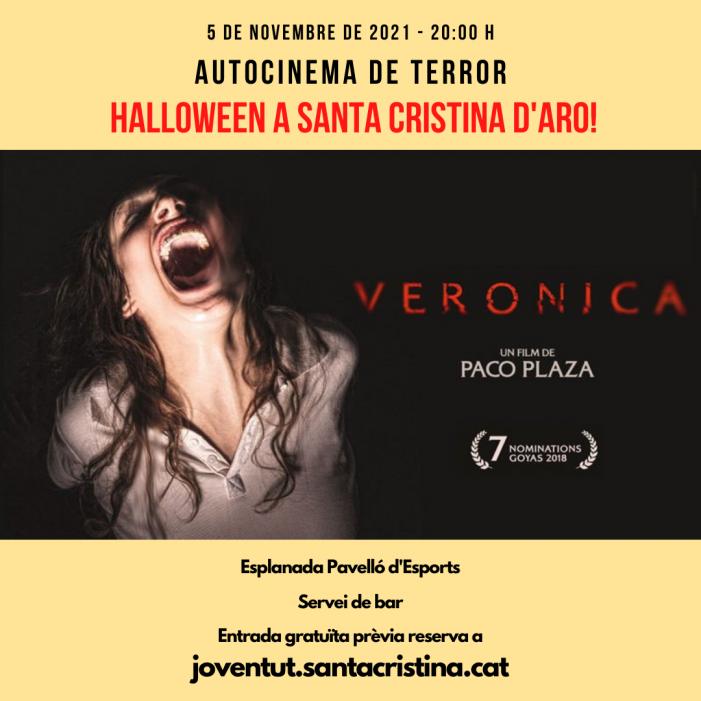 Autocine per celebrar Halloween a Santa Cristina d'Aro