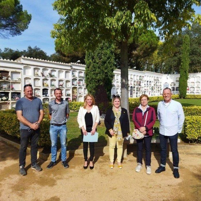 Santa Cristina d'Aro inaugura un espai per donar visibilitat al dol perinatal, gestacional i neonatal